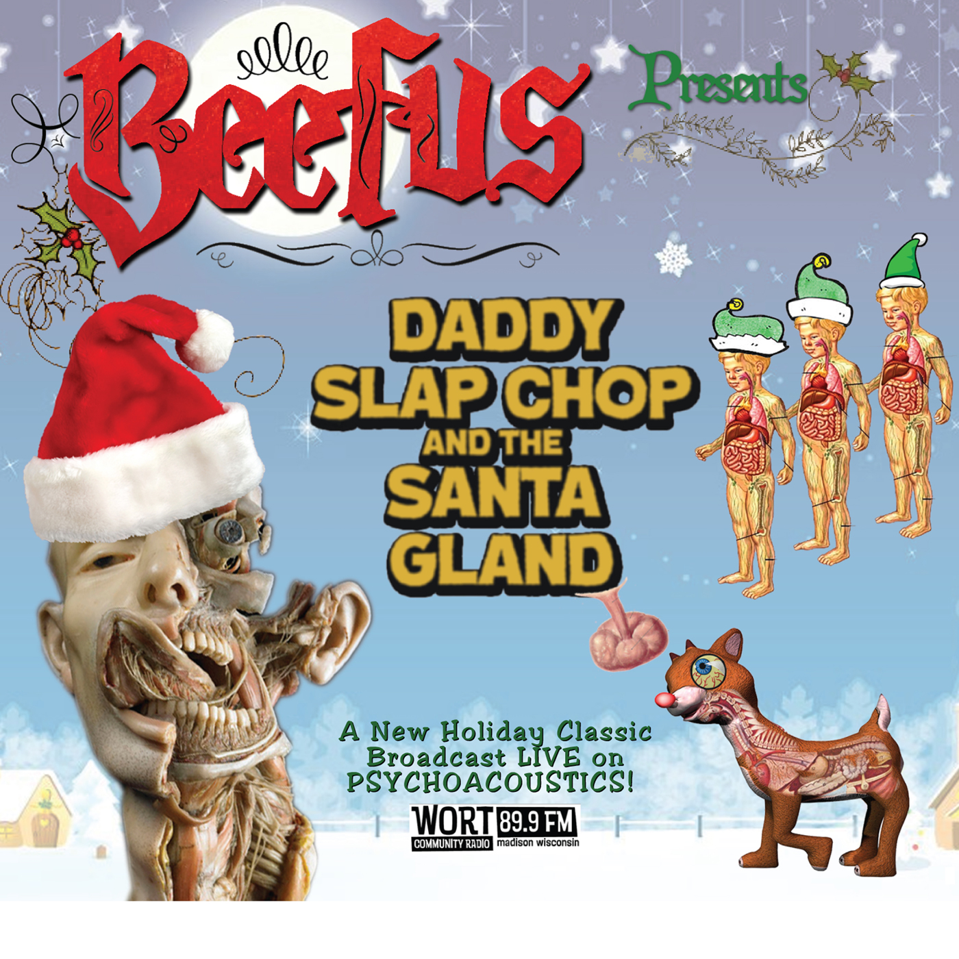 BEEFUS- 'Daddy Slap Chop and the Santa Gland'